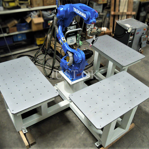 Argon TIG welding robot station